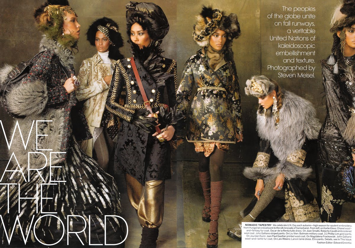 Fashion Magazine Editorial Pages