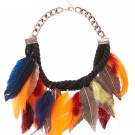 MUST | FEATHER STATEMENT NECKLACE