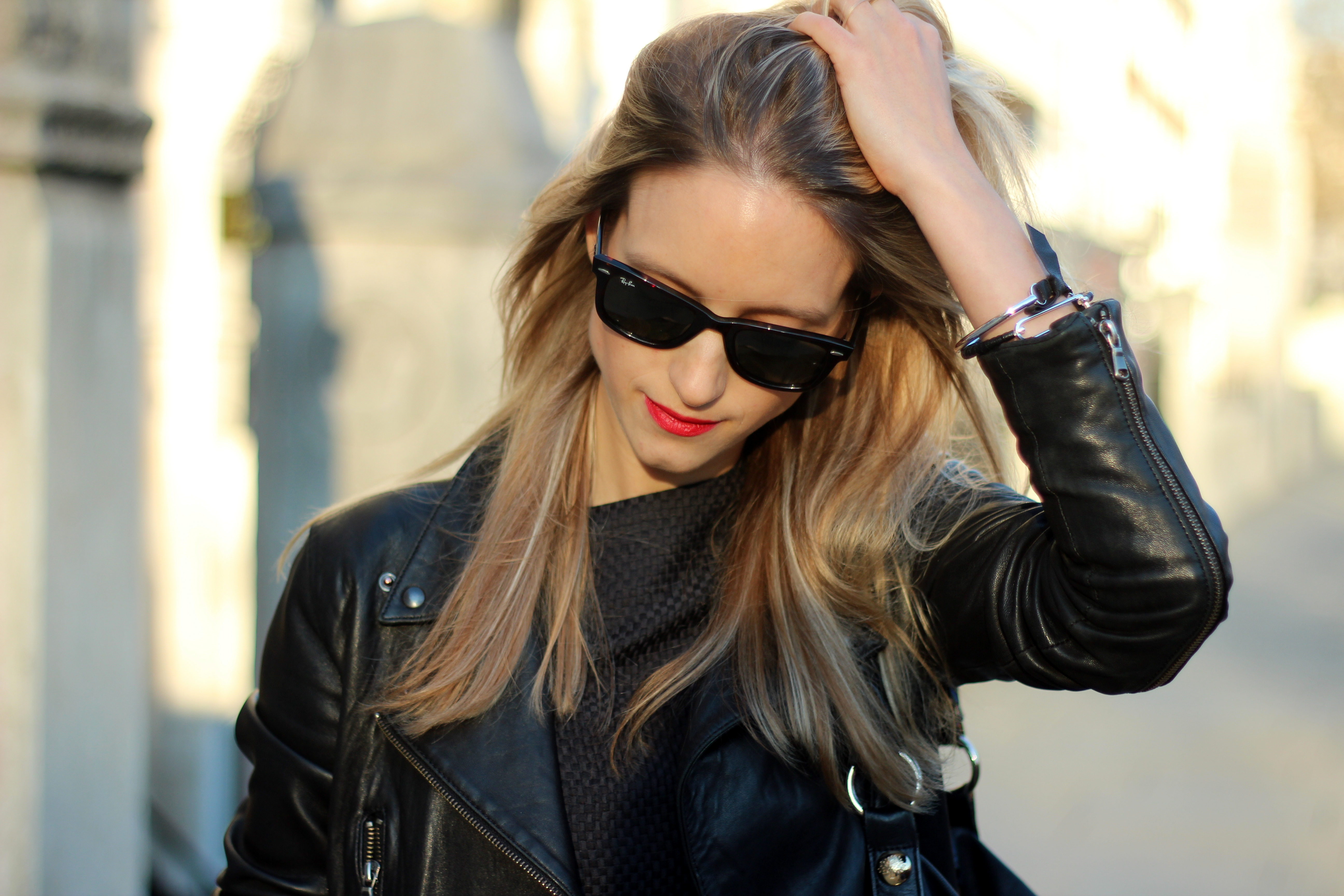 Leather jacket fashion -  The Next Best Thing Pauw Leather Jacket The Fashion Guitar