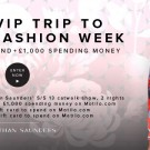 SEE YOU AT LFW? WIN A VIP TRIP HERE!