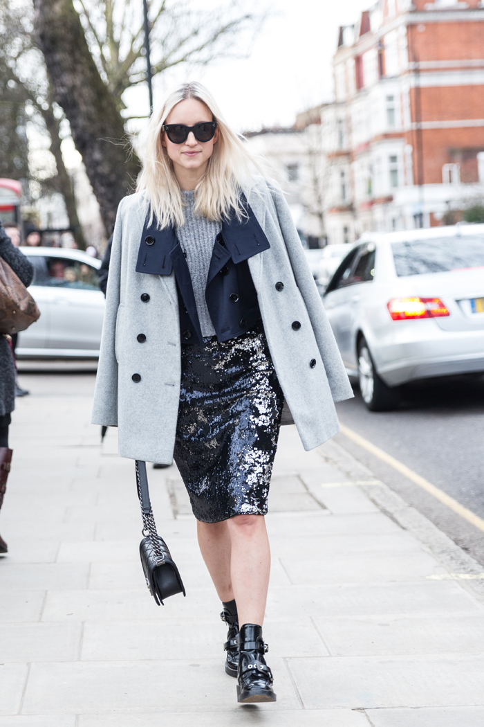 London Fashion Week streetstyle | THEFASHIONGUITAR