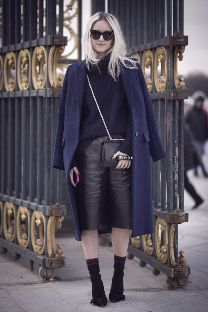Paris fashion week streetstyle | THEFASHIONGUITAR