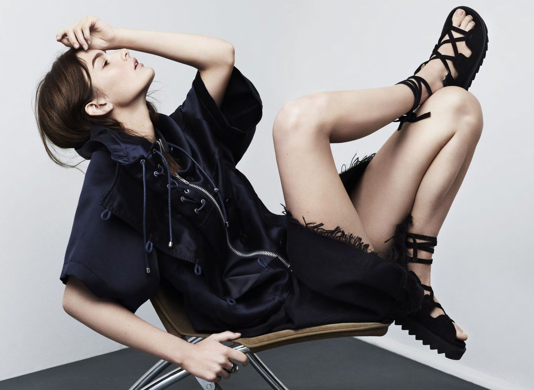 Ophelie Guillermand by Paul Wetherell for Intermission Magazine SS 2014| THEFASHIONGUITAR