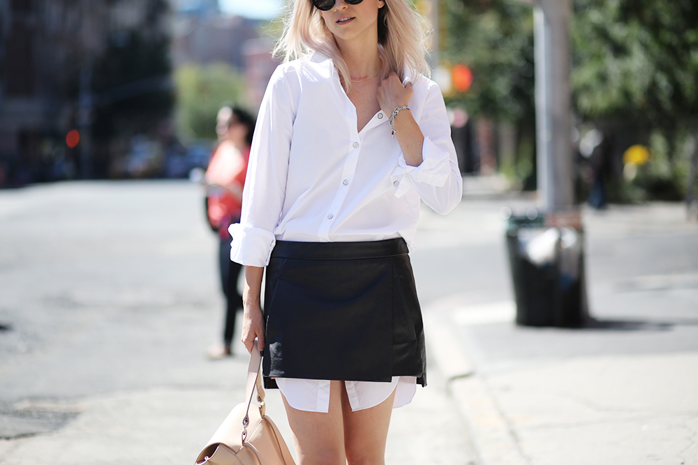 Skirt over shirt | THEFASHIONGUITAR