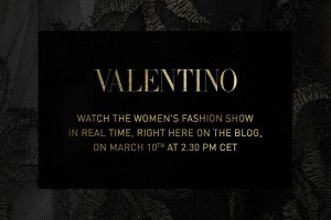 WATCH VALENTINO AW15 LIVE