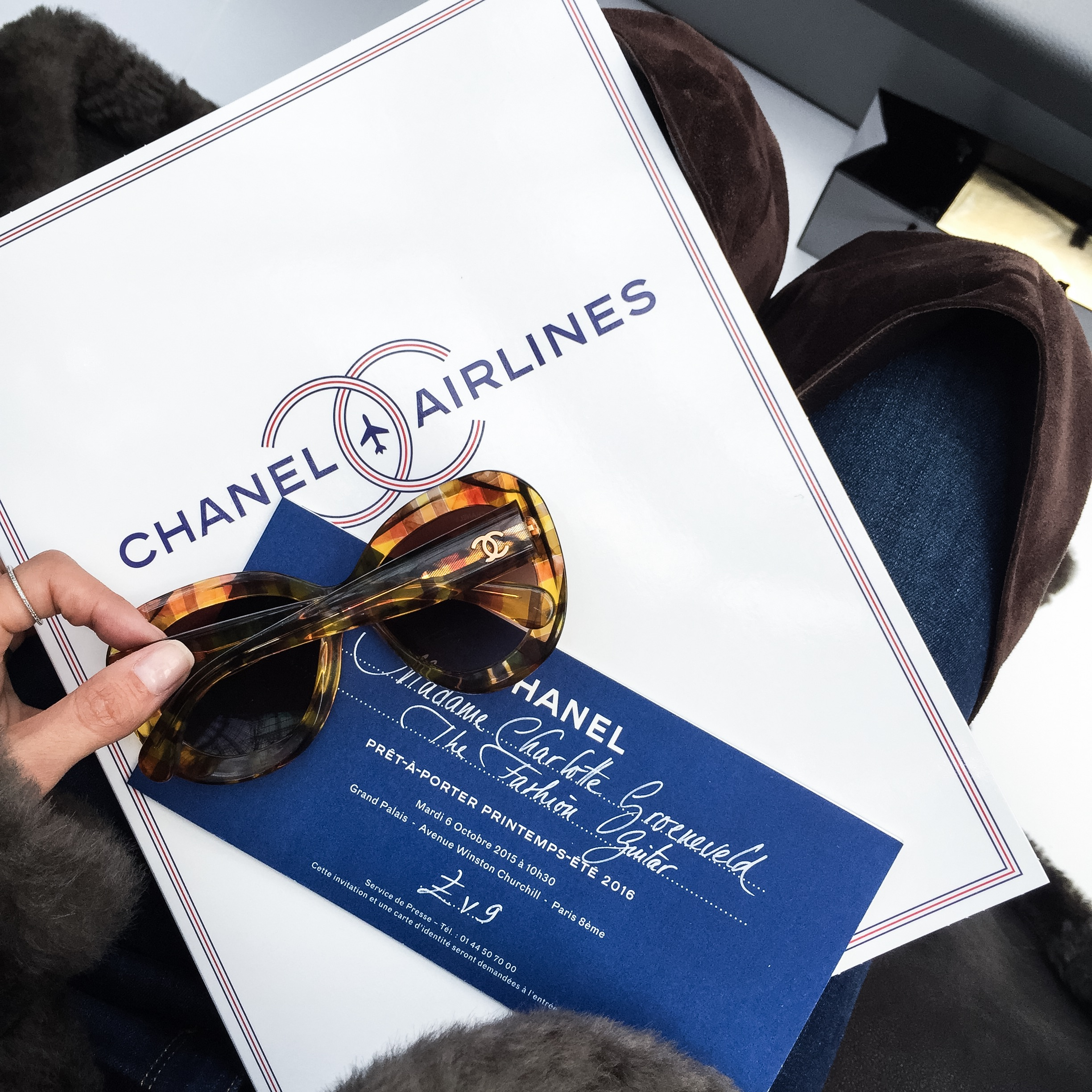 Chanel Airlines | THEFASHIONGUITAR