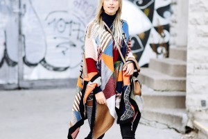 THE CHLOE PATCHWORK PONCHO