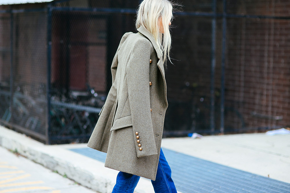 Chloe military coat