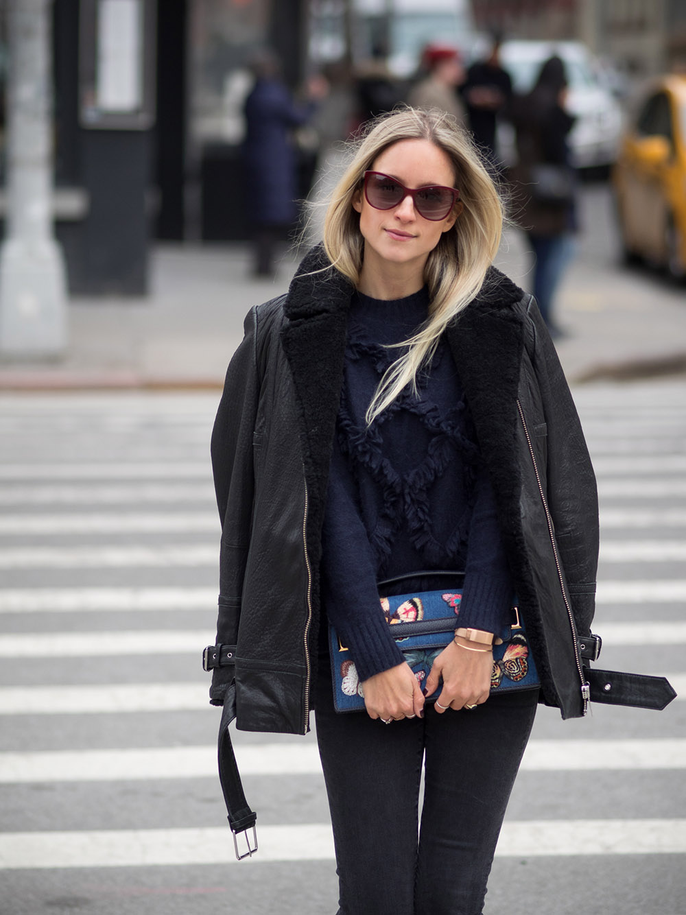 Street style New York Fashion Week womenswear AW16