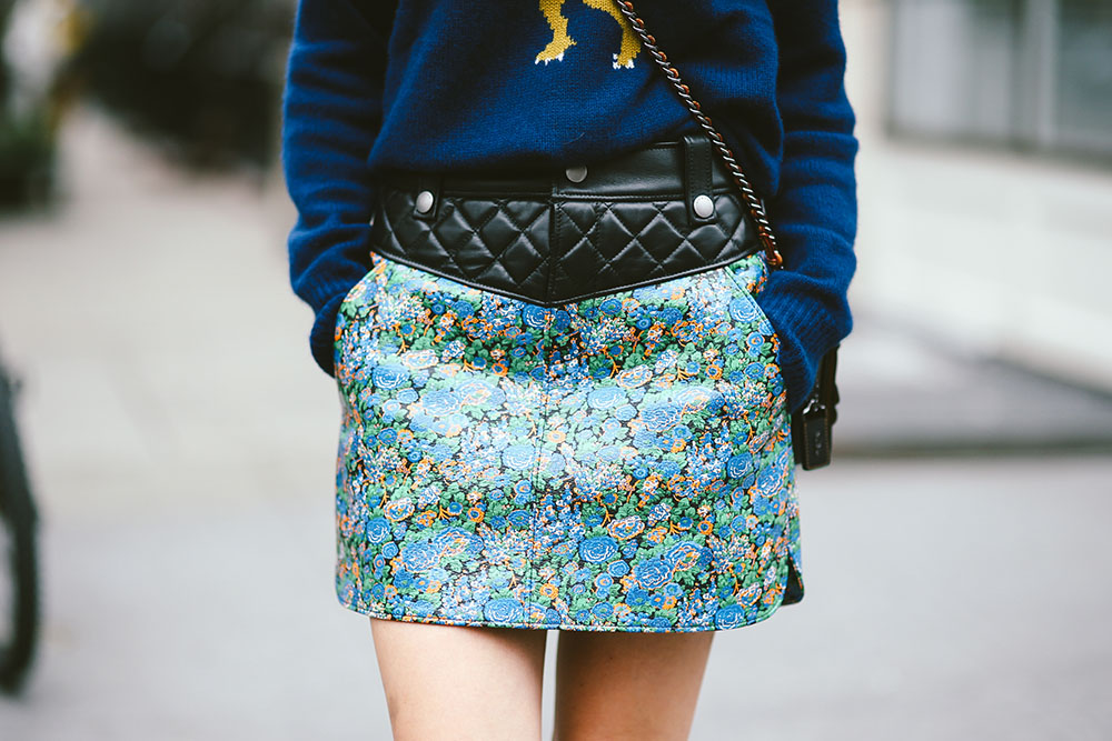 Coach-Spring-2016-leather-flower-skirt