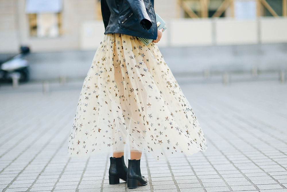 Valentino-Star-Studded-skirt