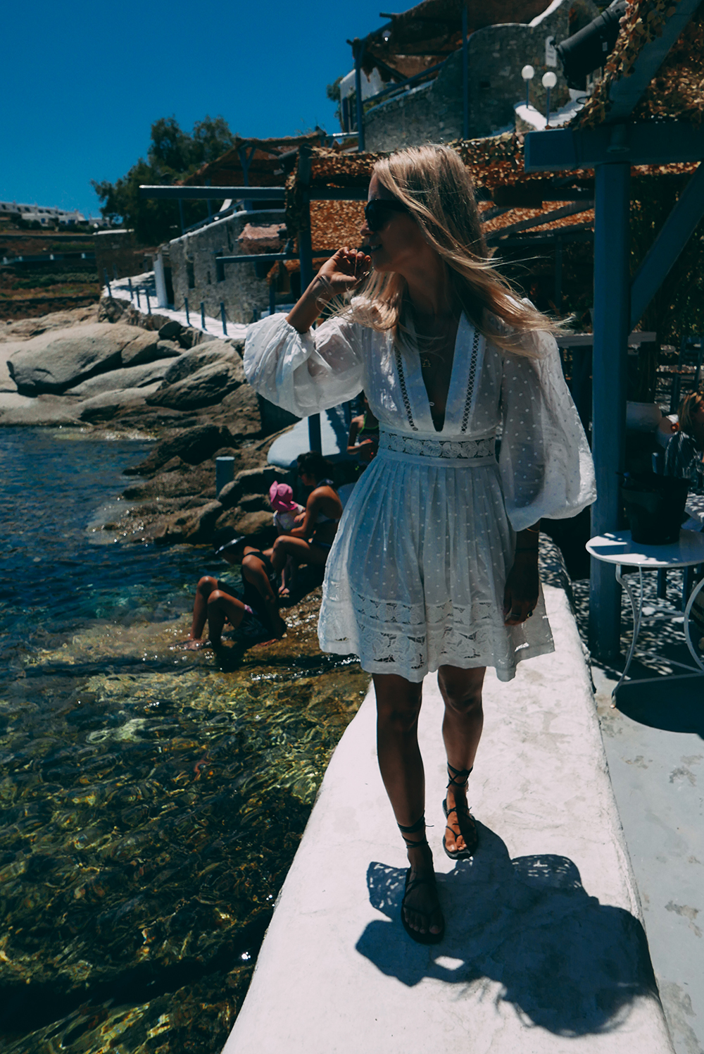 Mykonos with Zimmermann and Net-a-Porter Charlotte Groeneveld