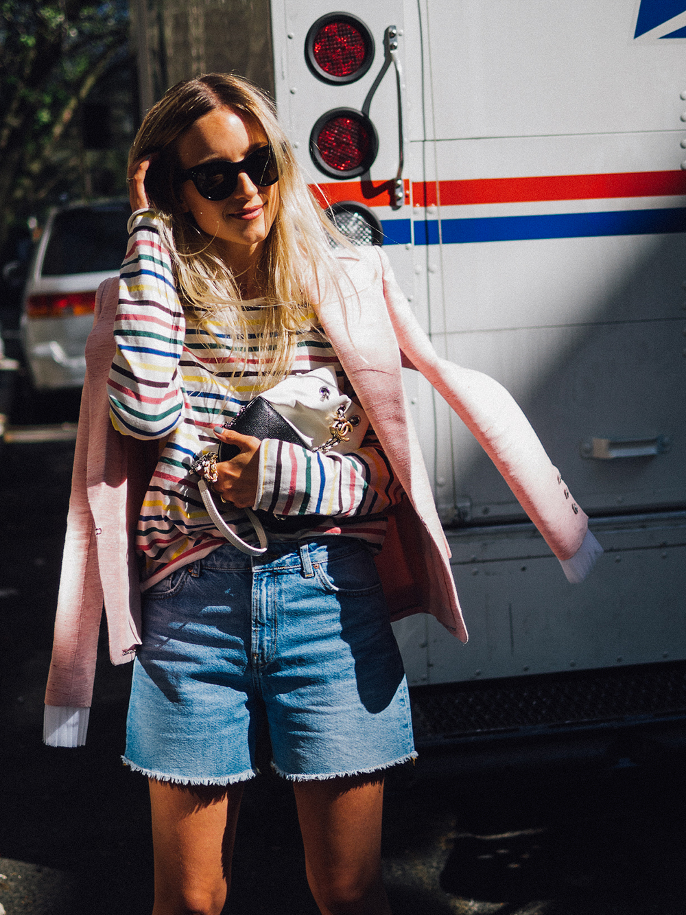 Charlotte Groeneveld Thefashionguitar wearing Chanel Cuba Cruis and the Gabrielle Chanel bag