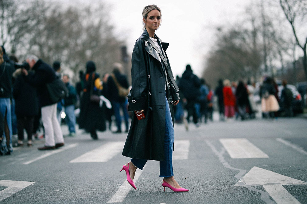 Charlotte Groeneveld Thefashionguitar after Dior FW17 in Paris