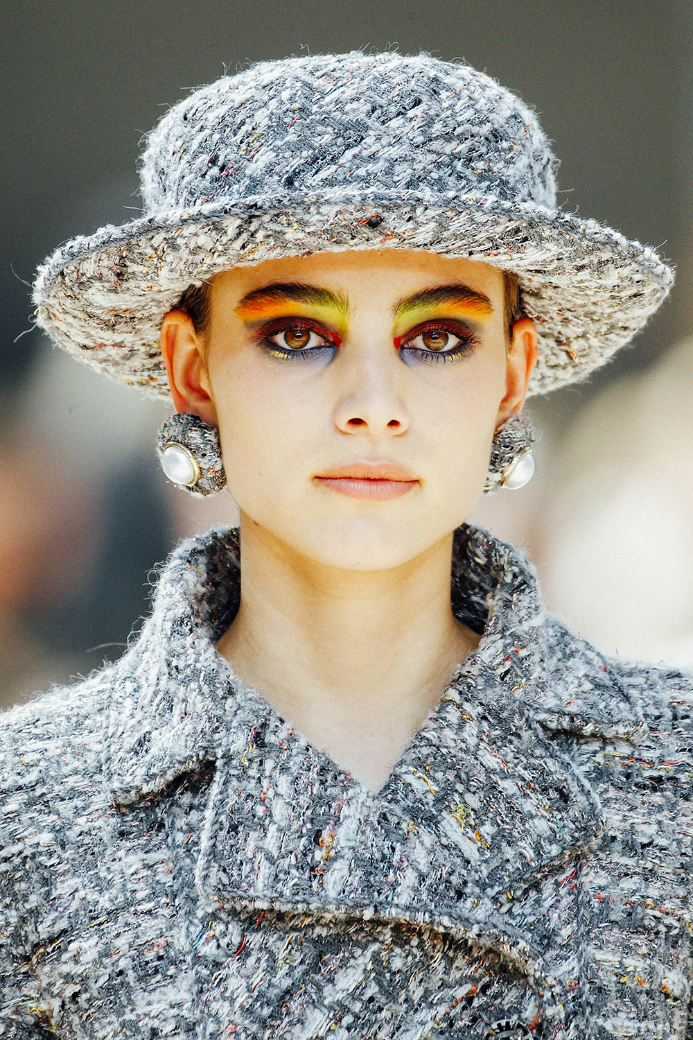 Details from the Chanel Haute Couture Fall 2017 via Vogue Runway