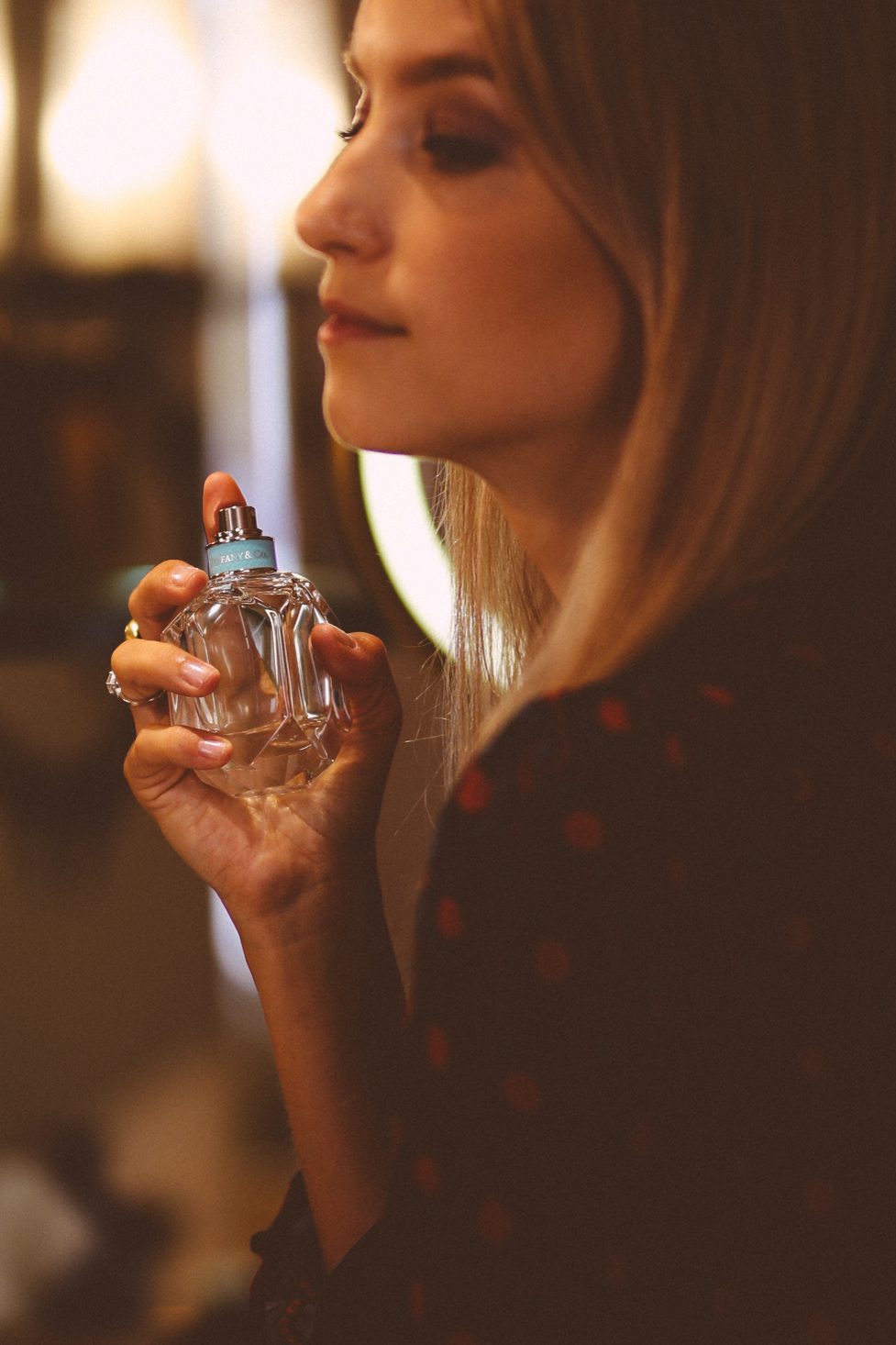 Charlotte Groeneveld Thefashionguitar for the new Tiffany & Co. Fragrance