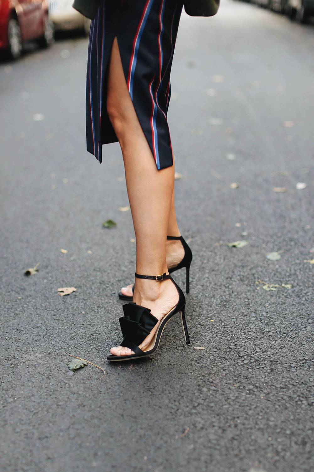 Charlotte Groeneveld in Jimmy Choo for The Outnet